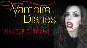 the vampire diaries halloween makeup tutorial youtube