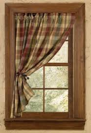 Bear  Trees Wildlife Window Curtains For Cabins Interior Design - Park designs home decor