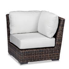 Patio Chair Cushion Slipcovers by Wicker Sectional Set 50 Sunbrella Fabrics Hampton Java