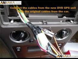 how to install car dvd gps tv diy youtube