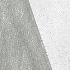 glitter tulle silver glitter tulle fabric onlinefabricstore net