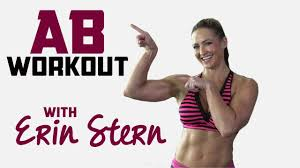 erin stern abs workout youtube