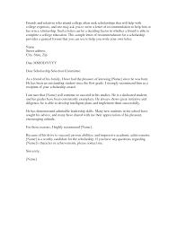 sample college recommendation college recommendation letter from family member choice image