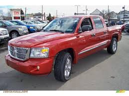 dodge dakota crew cab 4x4 for sale 2008 dodge dakota laramie crew cab 4x4 in sunburst orange pearl