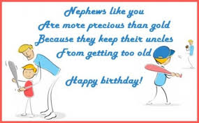 happy birthday wishes for a nephew messages quotes and poems