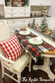 Decorating Ideas Dining Room Best 25 Christmas Dining Rooms Ideas On Pinterest Rustic Round