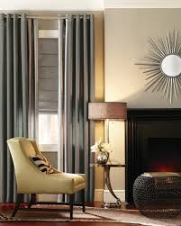 Fabric Drapes Double Curtain Rod Living Room Modern With Curtains Drapery