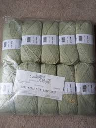 sirdar country style dk knitting wool yarn lime mix 10 x 100g
