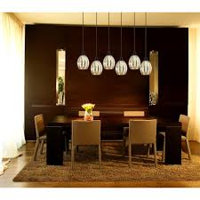 furniture interesting dining room light fixture glass attractive
