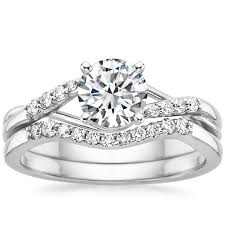 Engagement Ring And Wedding Band how to match a wedding band u0026 engagement ring brilliant earth