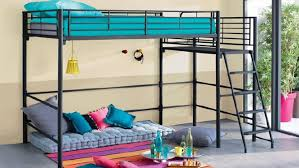 chambre ado fille avec lit mezzanine deco chambre ado avec lit mezzanine visuel 7