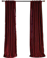 Faux Dupioni Silk Curtains Black Friday Savings Are Here 21 Off Peacock Vintage Textured