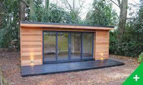 bureau ossature bois studio de jardin en ossature bois