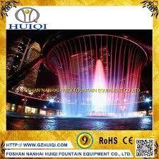 wholesale indoor dancing garden waterfalls digital water curtain
