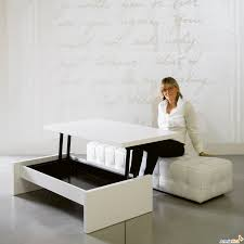 coffee tables exquisite modern brown and white convertible