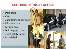 Front Desk Attendant Sections Of Front Office Department In Hotels