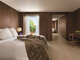 hotel bedroom lighting penthouse in london the london edition