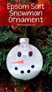 glass snowman ornament snowman easy ornaments and ornament