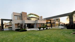 architecture beautiful glossy modern house in africa glossy