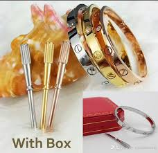 luxury bracelet box images High quality luxury bracelet classic fashion brand lovers titanium jpg