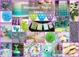 mermaid party ideas mermaid party ideas party on purpose