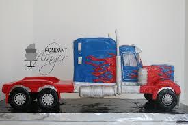 optimus prime cakes optimus prime truck process