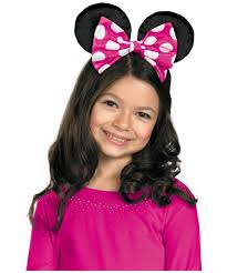minnie mouse disney kids bow girls disney costumes