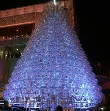 Christmas Tree Made Of Christmas Lights - 10 most creative christmas trees made using recycled materials