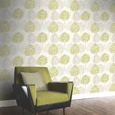 green wallpaper room a beautiful tree inspired wallpaper in a great colour scheme of