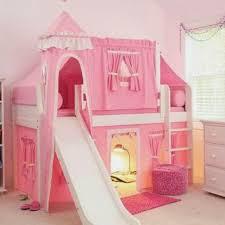 bunk beds kids rooms sleeping beauty castle loft bed girls