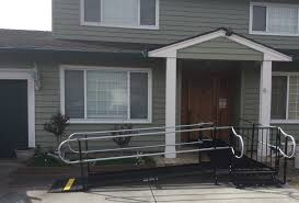 Wheelchair Ramp Handrails Wheelchair Ramps San Jose Bay Area Amramp