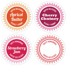 printable jar labels how about orange