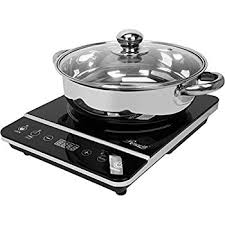 Cooker For Induction Cooktop Amazon Com Rosewill Rhai 13001 1800w Induction Cooker Cooktop