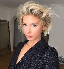 blonde messy bob adrianna christina insta bob haircuts
