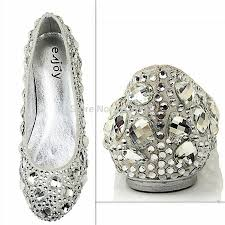 wedding shoes size 11 rhinestone gold shoes picture more detailed picture about silver