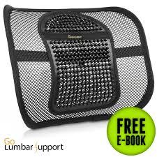 amazon com easy posture lumbar back support mesh health
