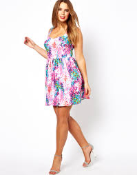 floral dresses for plus size 2018 wardrobelooks