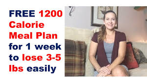 1200 calorie meal plan 1200 calorie diet plan for weight loss