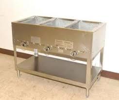 duke gas steam table duke aerohot 3 bay electric steam table 45 wide model e303m