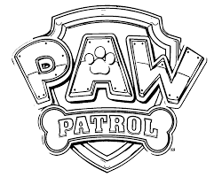 paw patrol coloring pages coloringeast com