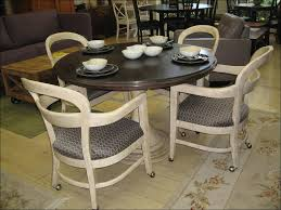 Dining Room Chairs On Casters Emejing Dining Room Chairs With Rollers Ideas Home Design Ideas