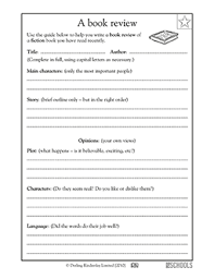 2nd grade book report template book summary worksheet free worksheets library and