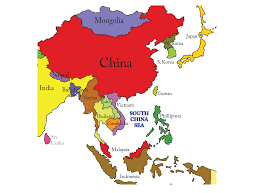 China On A Map by Map Of Asia And The Pacific Islands You Can See A Map Of Many