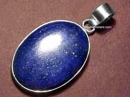 large silver necklace pendants images Lapis lazuli necklaces natural lapis lazuli necklaces jpg