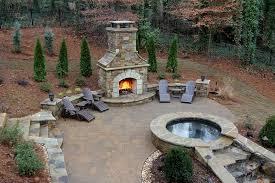 Download Custom Outdoor Fireplace Gencongresscom - Custom backyard designs