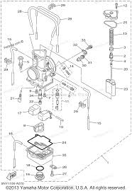 yamaha motorcycle parts 2002 yz125 yz125p carburetor diagram