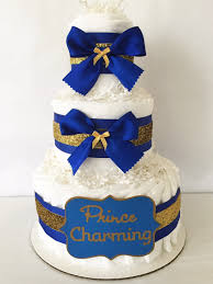 prince baby shower cake prince charming cake in royal blue and gold prince