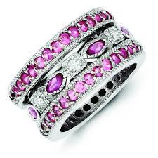 pink gemstones rings images Buy discounted gemstone birthstone rings online with financing jpg