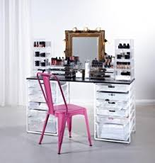 makeup artist station caring for your cosmetics and keeping them organised