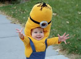 running with scissors gru and minion halloween costume